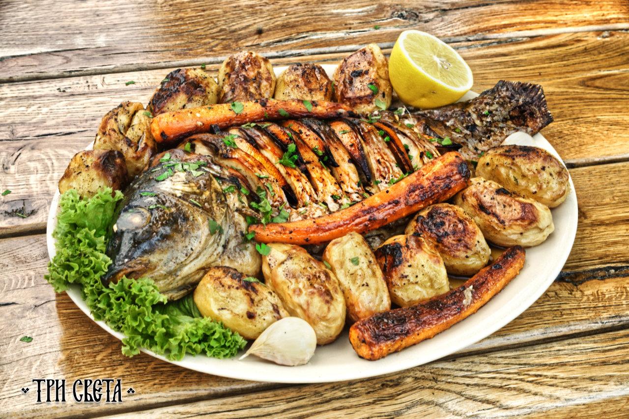 Pijani šaran - Specijaliteti restorana Tri sveta